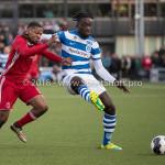 17-05-2018: Voetbal: Almere City FC v De Graafschap: Almere (L-R) Jerge Hoefdraad (Almere City FC), Myenty Abena (De Graafschap) Jupiler League finale play-offs 2017 / 2018h