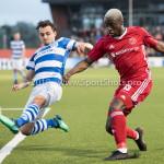 17-05-2018: Voetbal: Almere City FC v De Graafschap: Almere (L-R) Daryl van Mieghem (De Graafschap), Leeroy Owusu (Almere City FC) Jupiler League finale play-offs 2017 / 2018