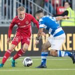 17-05-2018: Voetbal: Almere City FC v De Graafschap: Almere (L-R) Silvester van de Water (Almere City FC), Jordy Tutuarima (De Graafschap) Jupiler League finale play-offs 2017 / 2018