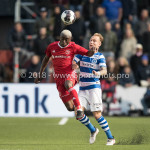 17-05-2018: Voetbal: Almere City FC v De Graafschap: Almere (L-R) Leeroy Owusu (Almere City FC), Mark Diemers (De Graafschap) Jupiler League finale play-offs 2017 / 2018