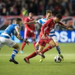 17-05-2018: Voetbal: Almere City FC v De Graafschap: Almere (L-R) Faris Hammouti (Almere City FC)), Robert Klaasen (De Graafschap) Jupiler League finale play-offs 2017 / 2018