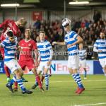 17-05-2018: Voetbal: Almere City FC v De Graafschap: Almere (L-R) Silvester van de Water (Almere City FC) 1-0, Jordy Tutuarima (De Graafschap) Jupiler League finale play-offs 2017 / 2018
