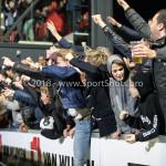 17-05-2018: Voetbal: Almere City FC v De Graafschap: Almere Almere City FC supporters celebrating 1-0 Jupiler League finale play-offs 2017 / 2018