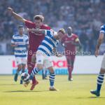 20-05-2018: Voetbal: De Graafschap v Almere City FC: Doetinchem (L-R) Javier Vet (Almere City FC), Robert Klaasen (De Graafschap) Jupiler League finale play-offs 2017 / 2018