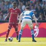 20-05-2018: Voetbal: De Graafschap v Almere City FC: Doetinchem (L-R) Achille Vaarnold (Almere City FC), Bart Straalman (De Graafschap) Jupiler League finale play-offs 2017 / 2018