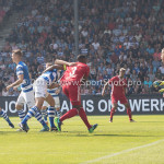 20-05-2018: Voetbal: De Graafschap v Almere City FC: Doetinchem (L-R) Sven Nieuwpoort (De Graafschap)Calvin Mac Intosch (Almere City FC) Jupiler League finale play-offs 2017 / 2018
