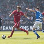 20-05-2018: Voetbal: De Graafschap v Almere City FC: Doetinchem (L-R) Javier Vet (Almere City FC), Bart Straalman (De Graafschap) Jupiler League finale play-offs 2017 / 2018