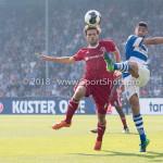 20-05-2018: Voetbal: De Graafschap v Almere City FC: Doetinchem (L-R) Javier Vet (Almere City FC), Youssef El Jebli (De Graafschap) Jupiler League finale play-offs 2017 / 2018