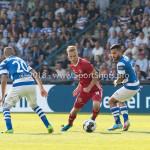 20-05-2018: Voetbal: De Graafschap v Almere City FC: Doetinchem (L-R) Youssef El Jebli (De Graafschap), Silvester van de Water (Almere City FC), Jordy Tutuarima (De Graafschap) Jupiler League finale play-offs 2017 / 2018