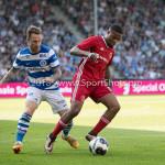 20-05-2018: Voetbal: De Graafschap v Almere City FC: Doetinchem (L-R) Robert Klaasen (De Graafschap), Jerge Hoefdraad (Almere City FC) Jupiler League finale play-offs 2017 / 2018