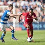 20-05-2018: Voetbal: De Graafschap v Almere City FC: Doetinchem (L-R) Bart Straalman (De Graafschap), Arsenio Valpoort (Almere City FC) Jupiler League finale play-offs 2017 / 2018