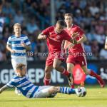 20-05-2018: Voetbal: De Graafschap v Almere City FC: Doetinchem (L-R)Robert Klaasen (De Graafschap), Jerge Hoefdraad (Almere City FC) Jupiler League finale play-offs 2017 / 2018