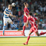 20-05-2018: Voetbal: De Graafschap v Almere City FC: Doetinchem (L-R) Kevin van Diermen (De Graafschap), Dennis van der Heijden (Almere City FC) Jupiler League finale play-offs 2017 / 2018