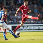 20-05-2018: Voetbal: De Graafschap v Almere City FC: Doetinchem (L-R) Bart Straalman (De Graafschap). Dennis van der Heijden (Almere City FC) Jupiler League finale play-offs 2017 / 2018
