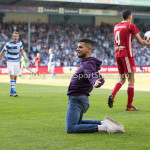 20-05-2018: Voetbal: De Graafschap v Almere City FC: Doetinchem Supporter op het veld Jupiler League finale play-offs 2017 / 2018