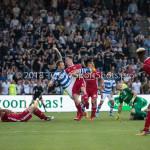 20-05-2018: Voetbal: De Graafschap v Almere City FC: Doetinchem (L-R) Robert Klaasen (De Graafschap), Dennis van der Heijden (Almere City FC) Jupiler League finale play-offs 2017 / 2018