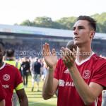 20-05-2018: Voetbal: De Graafschap v Almere City FC: Doetinchem Dennis van der Heijden (Almere City FC) teleurgesteld Jupiler League finale play-offs 2017 / 2018